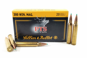 1 300 Win Mag SB sellier Bellot plastic tip special 180gr