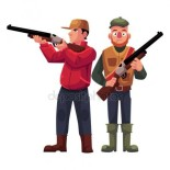 depositphotos_140181180-stock-illustration-two-hunters-one-in-vest